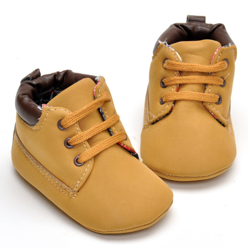 Spring Autumn Infant Baby Boy Soft Sole Leather