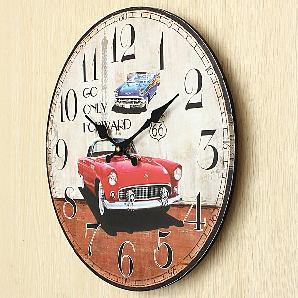 Online Get Cheap Car Wall Clock Aliexpresscom Alibaba
