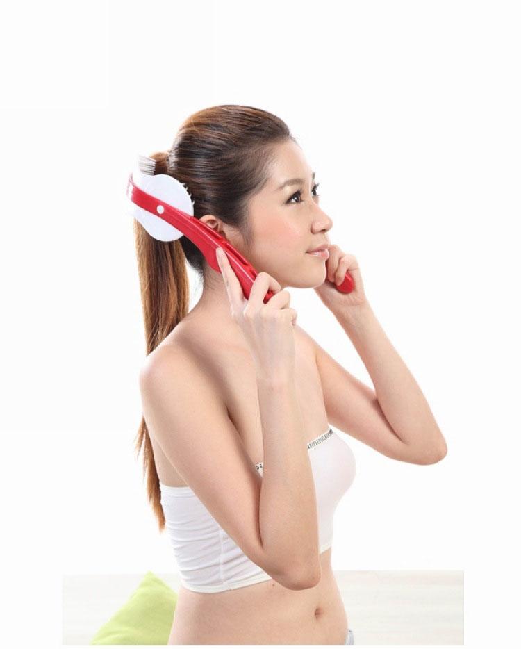 massage equipment scalp massage slimming health household acupuncture points head massage device white collar(China (Mainland))