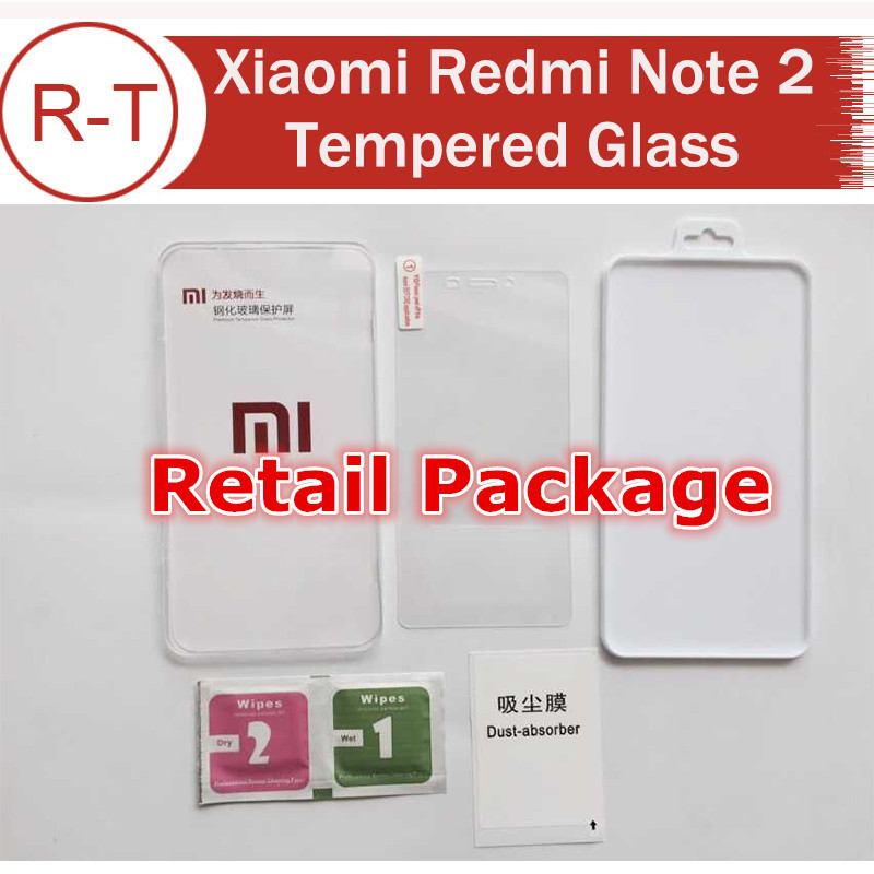 Гаджет  Xiaomi Redmi Note 2 Tempered glass High Quality Screen Protector Glass Film for Xiaomi Red rice Note2 With Original Package None Телефоны и Телекоммуникации