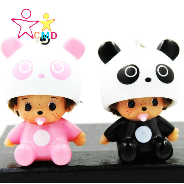2016 new car perfume DIY Diamond Pendant Kiki panda car accessories car Kiki sheep(China (Mainland))