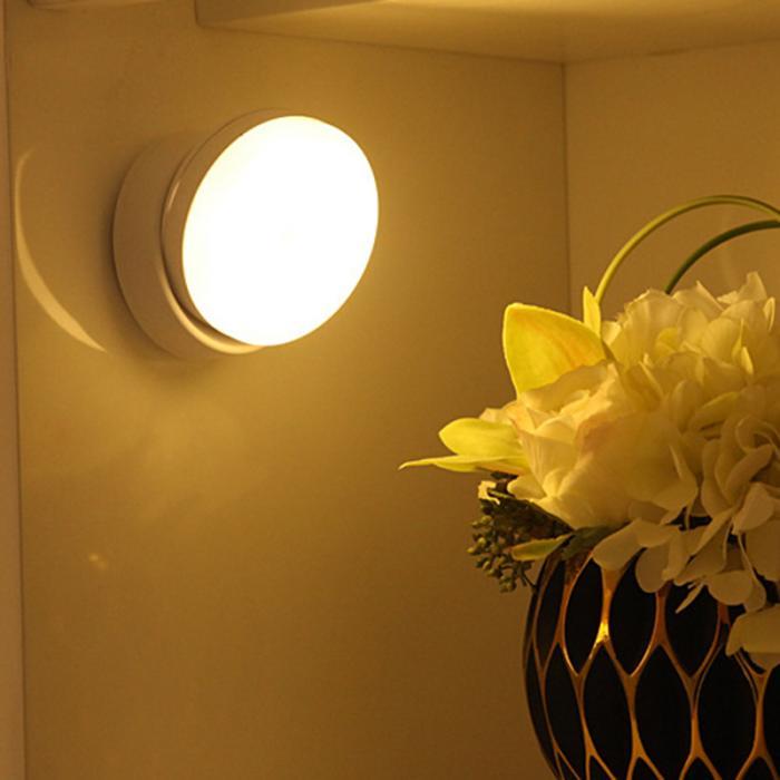 Датчик движения свет Магнитный 360 градусов вращения тела индукции светодиодный