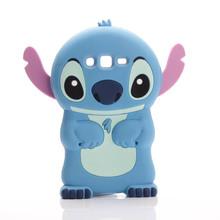 Cute 3D Cartoon Lilo Stich Soft Silicone Back Cover Case Samsung Galaxy J1 J2 J3 J5 J7 A3 A5 A7 2016 Grand Prime - Good Friend store