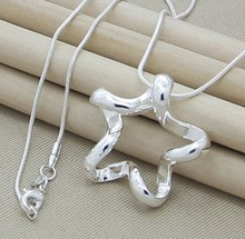 P047Free shipping,Wholesale925 silver necklaces high quality,fashion/classic jewelry, Nickle free,antiallergic,factory price