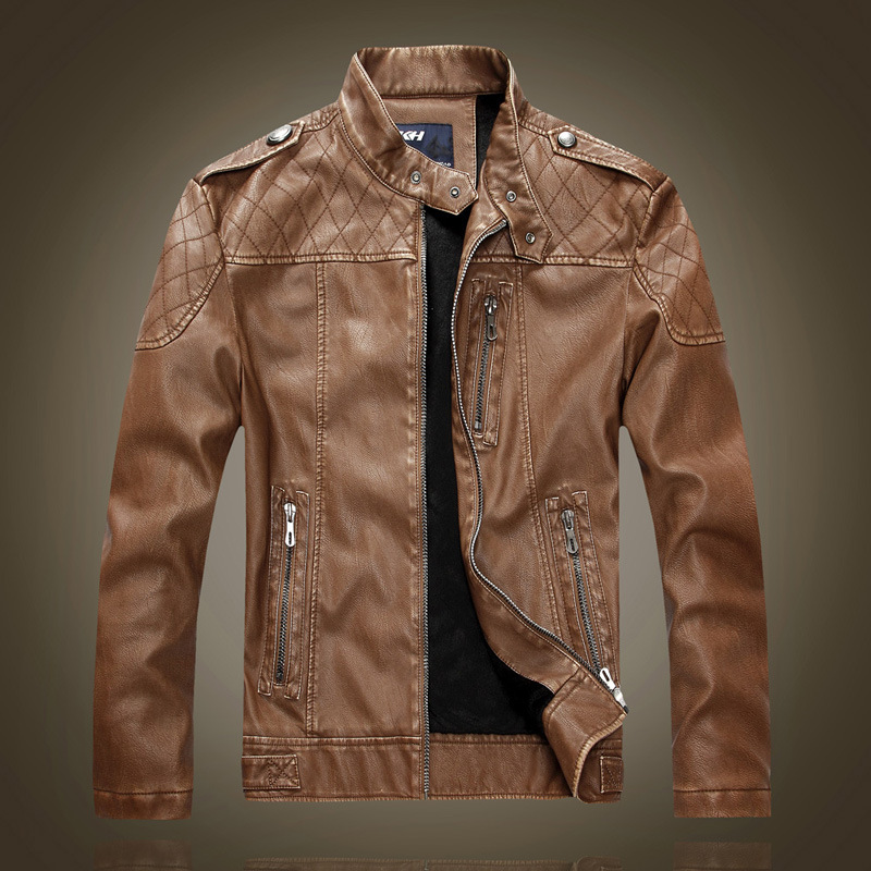 Designer leather jackets for men