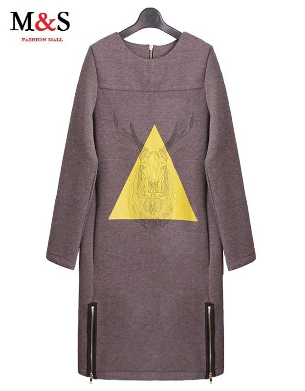 Melinda Style 2016 new women casual dress fashion vestidos free shipping