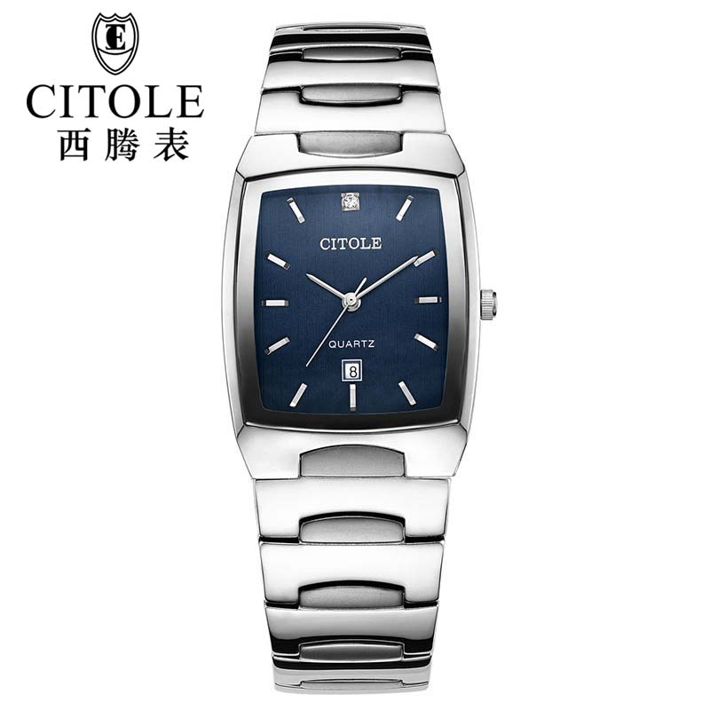 CITOLE France watches men luxury brand quartz watch stainless steel blue casual womens watch relogio masculino feminino<br><br>Aliexpress