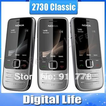 Nokia 2730 Classic Original mobile phone wholesale 2730c Free Shipping
