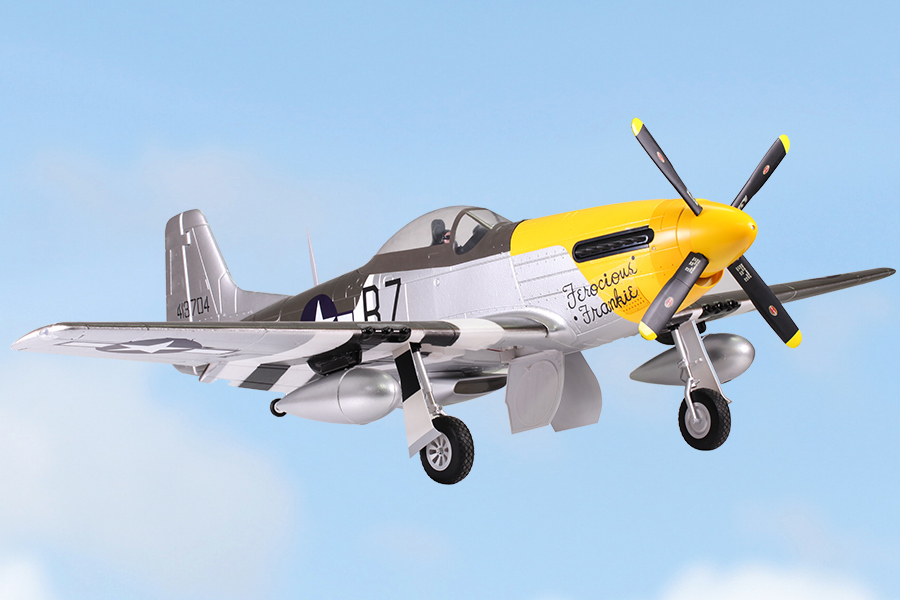 FMS 1700MM / 1.7M Gaint Warbird P51 / P-51 D Mustang Ferocious Frankie FF PNP Version Big Scale RC Model Plane Aircraft(China (Mainland))