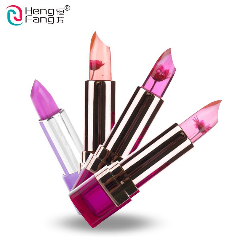 Temperature-changed Lipstick Lip Balm 7 Colors Lipbalm Nutritious Lips 3.5g Makeup Brand HengFang #H9223-H9266(China (Mainland))