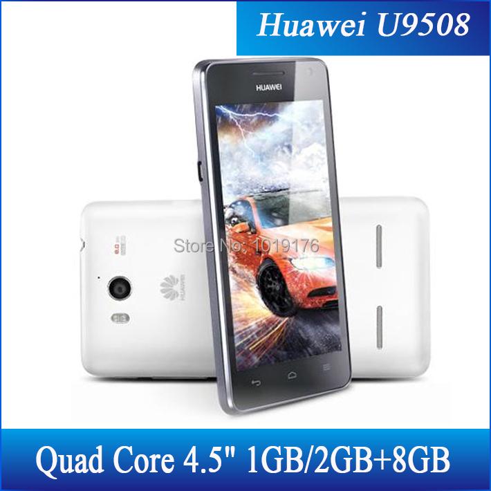 "In stock Free Shipping!Original Huawei U9508 Honor 2 Quad Core Android Phone 1.4G 1GB&2GB+8GB 8.0M+1.3M Camera 4.5""IPS 1280*720(China (Mainland))"