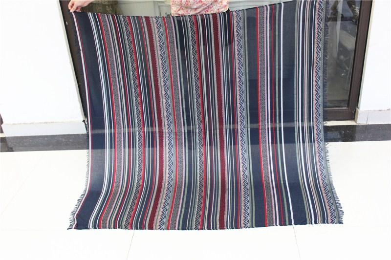 Big size140cm*140cm 2016 New Fashion Winter Women Scarves Personality Designer Cotton shawls Navy Striped Square Scarf bandana