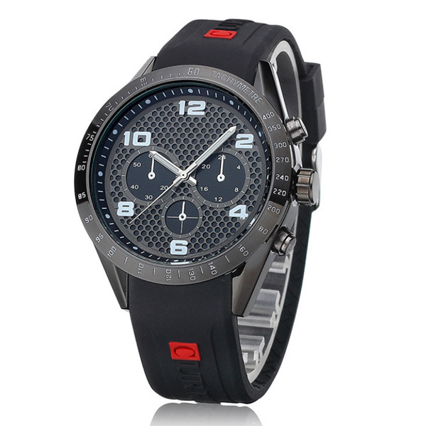 stylish s silicone rubber band sports casual watches