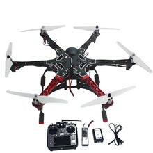 F05114-AQ 6-axis RC Aircraft Hexacopter Helicopter RTF Drone with AT10 TX/RX 550 Frame GPS APM2.8 Flight Controller Battery(China (Mainland))