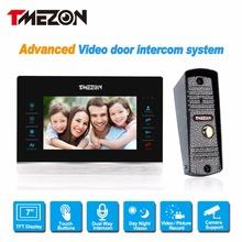 Tmezon 7 «TFT Цветной Монитор Акустическая Система 1200TVL Камеры Видео-Домофон внутренней Безопасности Водонепроницаемый ИК Ночного Видения 1v1