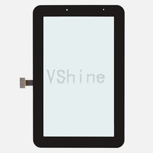 For Samsung Galaxy Tab 2 7.0 GT-P3110 WiFi Version Generic Touch Screen Digitizer touchpad replacement repair fix parts Black