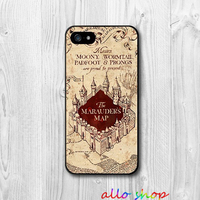 Harry Potter Marauders Map fashion original cell phone case cover for iphone 4 4S 5 5S 5C 6 6 plus #869