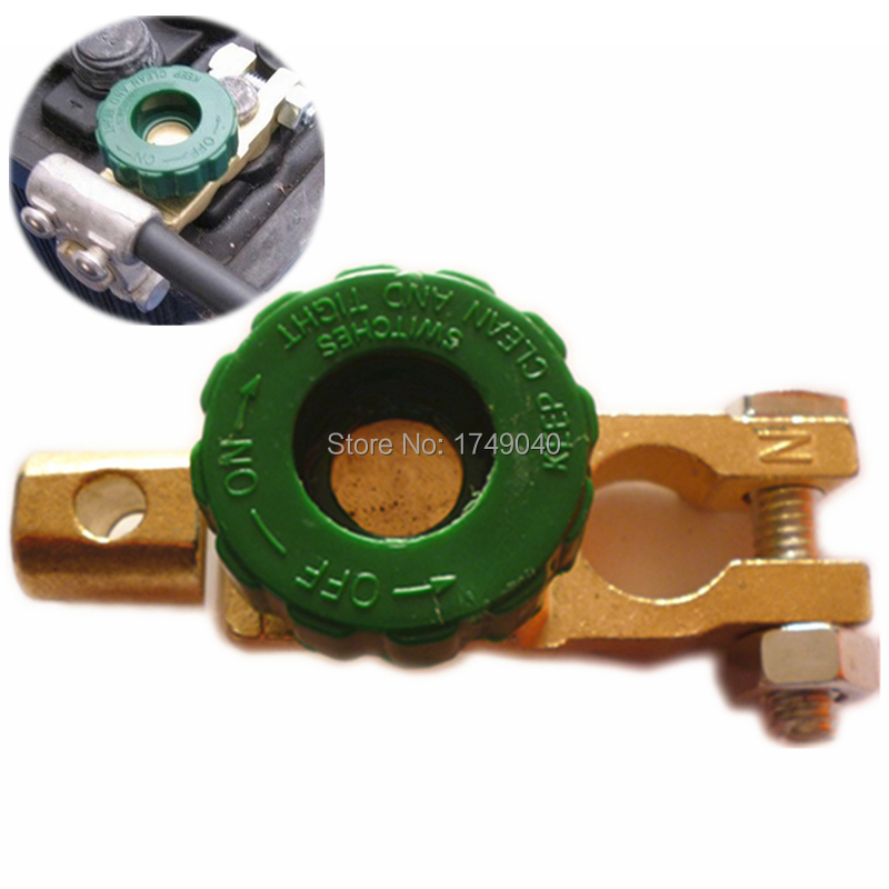 2PCS Universal Battery Link Switch Quick Cut-Off Terminal Disconnect Switch PartS For Automotive Cars Trucks Accessory Wholesale(China (Mainland))