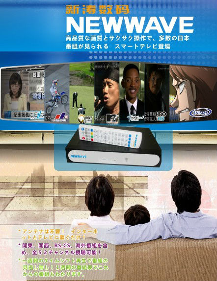 Hot receiver 1PCS/lot home theatre system Japan show IPTV BOX ip9000 Free shipping DHL Fedex IE 3 ~7 days(China (Mainland))