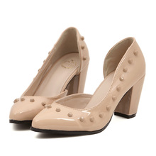A tip side air thick hollow rivet High Heels Sandals Shoes Asakuchi documentary shoes stock price