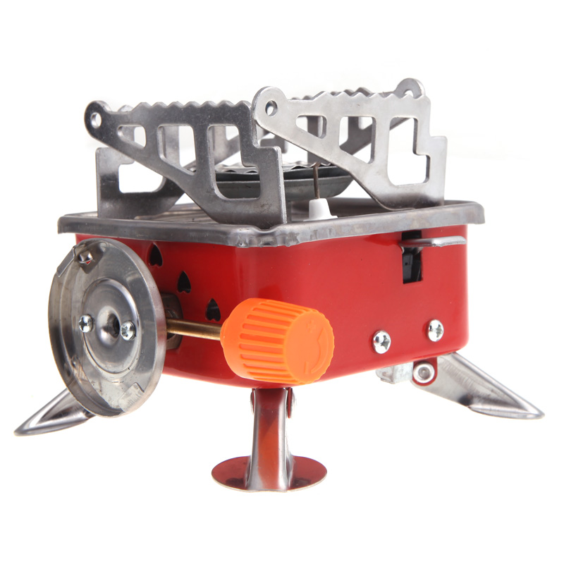 Gas stove portable split test Wind 2800 W burner stove Camping multifunctional outdoor oven cooking barbecue(China (Mainland))