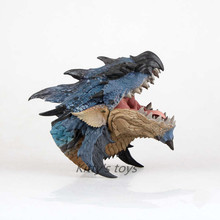 Free Shipping Action Figure Toys 1/6 scale painted figure Monster Hunter Azure Rathalos Garage Kits Dolls Brinquedos Anime
