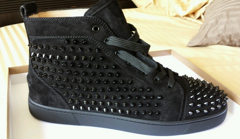 Popular Black Spikes Shoes-Buy Cheap Black Spikes Shoes lots from ...