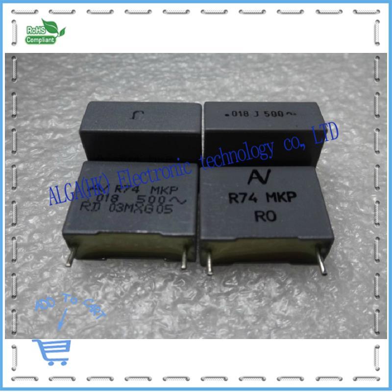AV R74 MKP capacitors 0.018 uf and nf vac 183/500 generation (1000 v) P = 15 mm(China (Mainland))