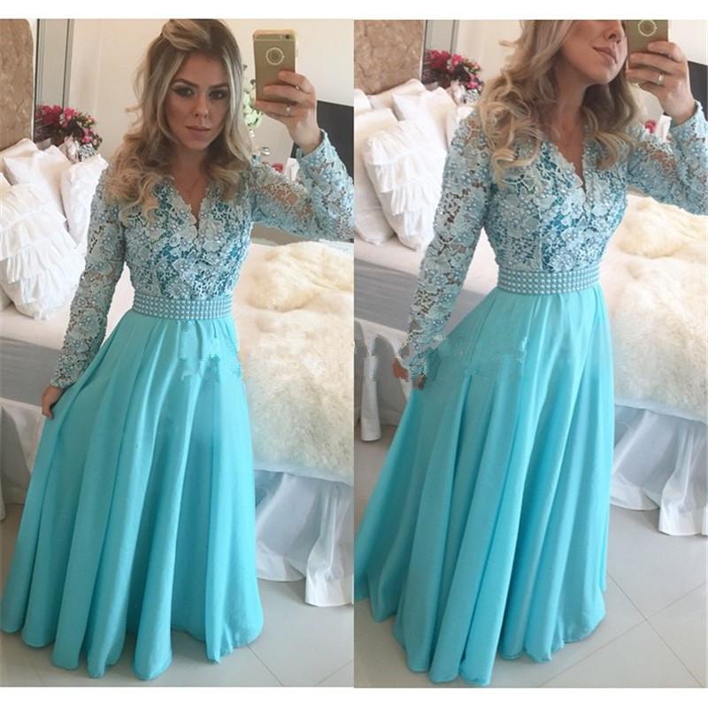 Turmec » long sleeve prom dresses cheap