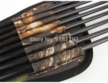 Waterproof Ultralight Bundled Processing Leaves Camouflage Bionic Camo Bow Bag Pouch Arrow Quiver Archery Supplies