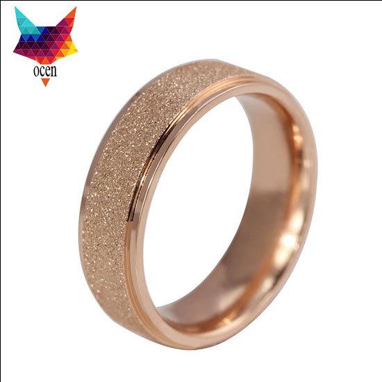 minorder $10 18K gold plated 6mm titanium ring Free Engrave Customize Super Deal Ring Titanium Man's wedding Rings Couple Rings(China (Mainland))