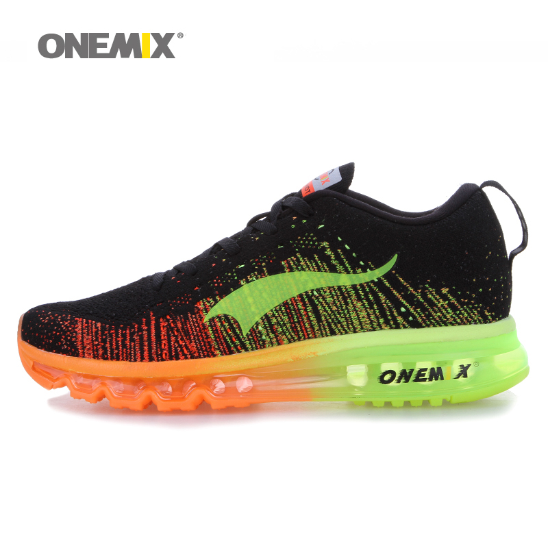 Onemix brand 2016 men's running shoes high quality sport shoes colorful men's athletic sports shoes size EU43-46 free shipping(China (Mainland))