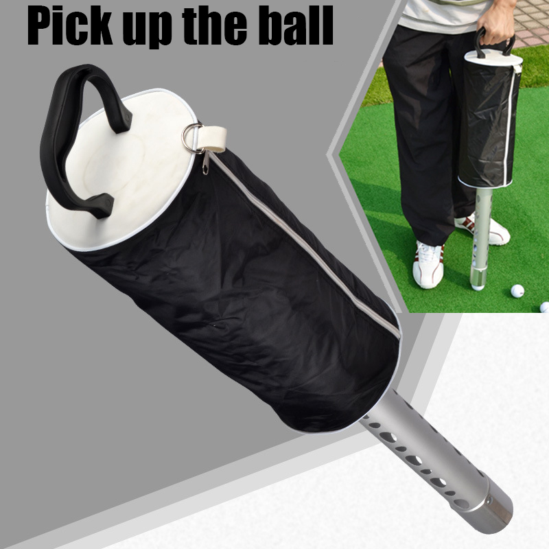 2014 New Automatic Golf Ball Pick Up Ultimate Ball Retriever hot! Golf Ball collect package Free Shipping!(China (Mainland))