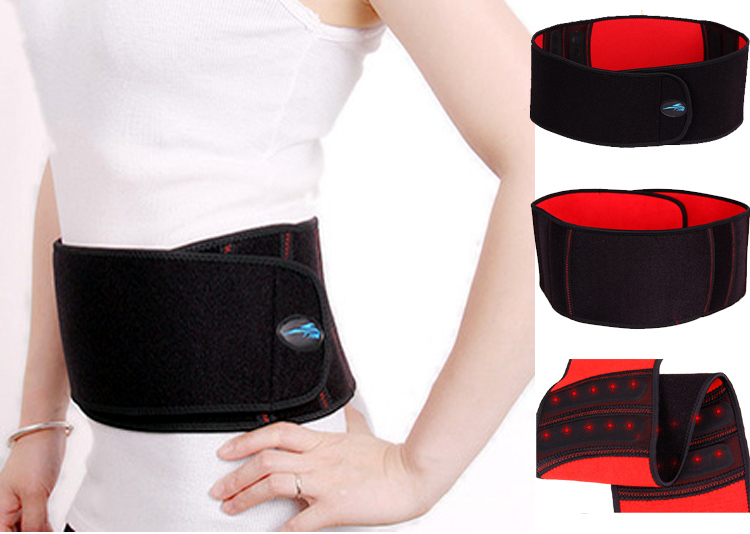 Self-heating Waist Support 20 Healthy Magnets Relief Back Pain Brace Elastic Lumbar Protector Braces & Supports - HappyShoppingStore store
