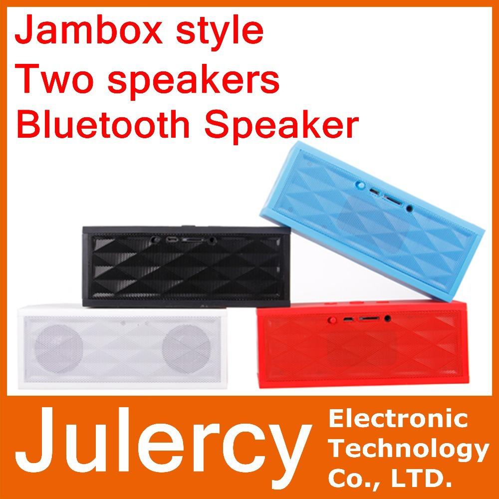 Jambox style mini HIFI portable bluetooth speaker wireless mp3 speakers system with Mic FM audio receiver caixa de som altavoces(China (Mainland))