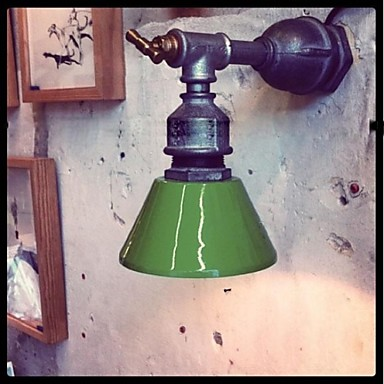 Фотография Nordic Loft Industrial Sconce Vintage Wall Light Fixtures For Home Iron Water Pipe Lamp LED Wall Indoor Lighting Lampara Pared
