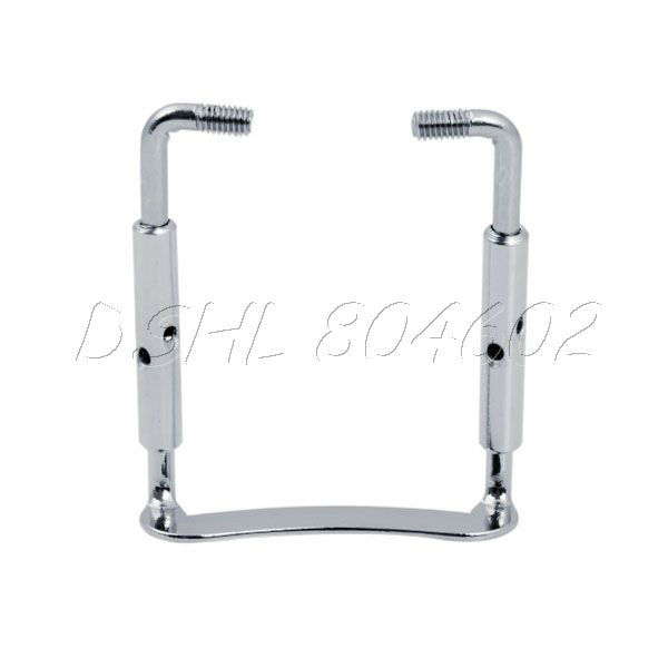 Professional 1/2 1/4 Chrome Violin Chinrest Clamp screw(China (Mainland))