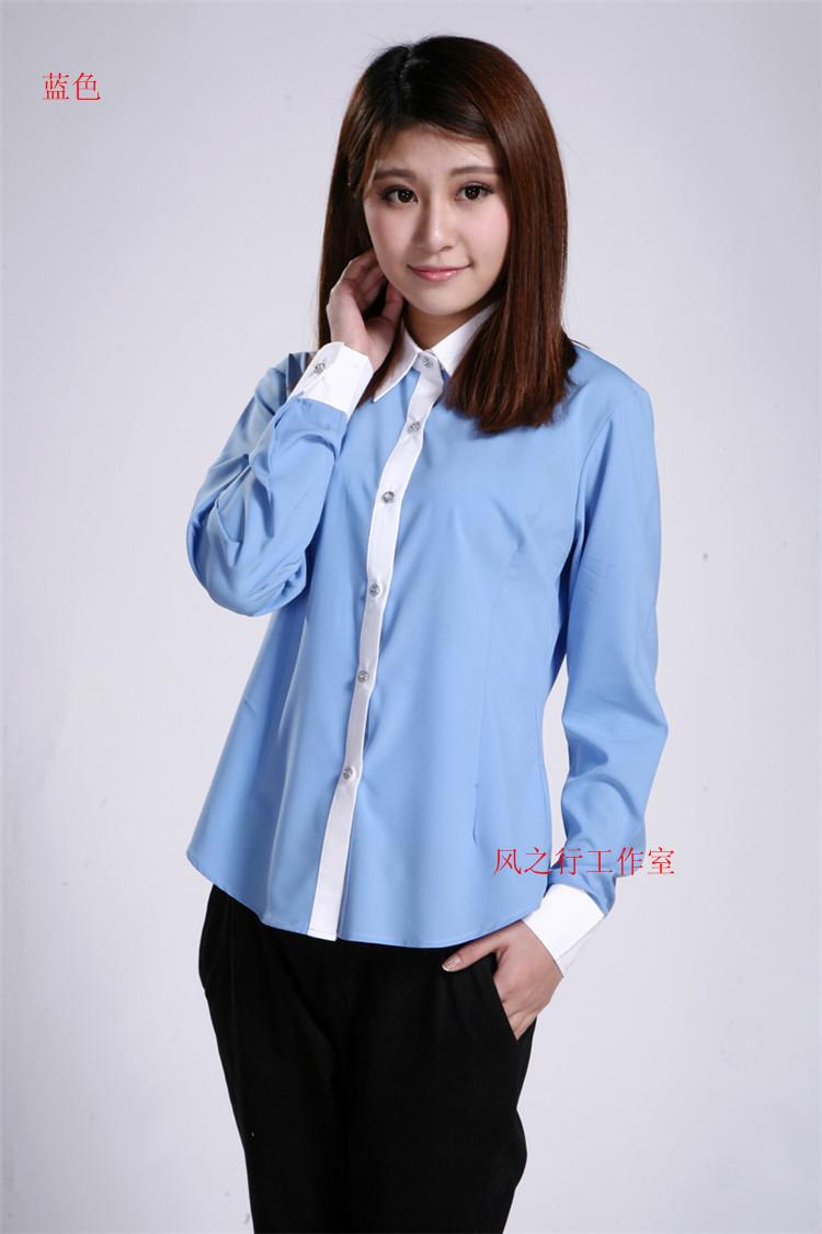 2015 spring high quality 100 cotton women shirt autumn for Womens white shirts high quality