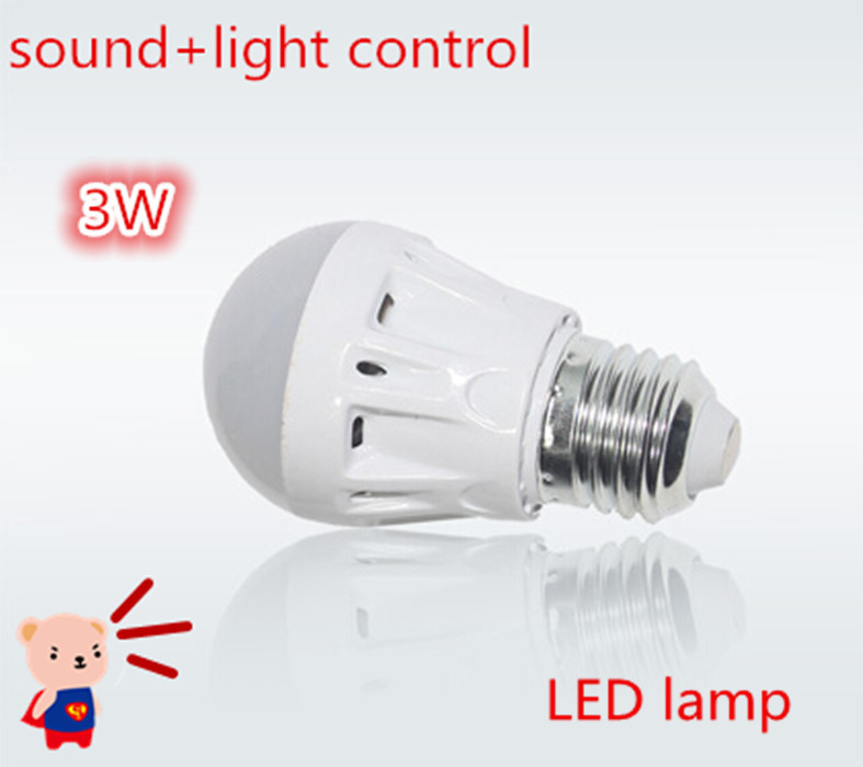 New voice activated lights focos led lamp e27 3w 5w 7w 9w - Led para casa ...
