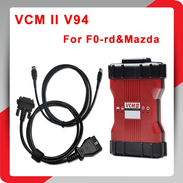 High Quality VCM2 2 in 1 Diagnostic Scanner For Fod & Mazda VCM II IDS V94 Support 2015 IDS VCM 2 OBD2 Scanner DHL Free Shipping(China (Mainland))