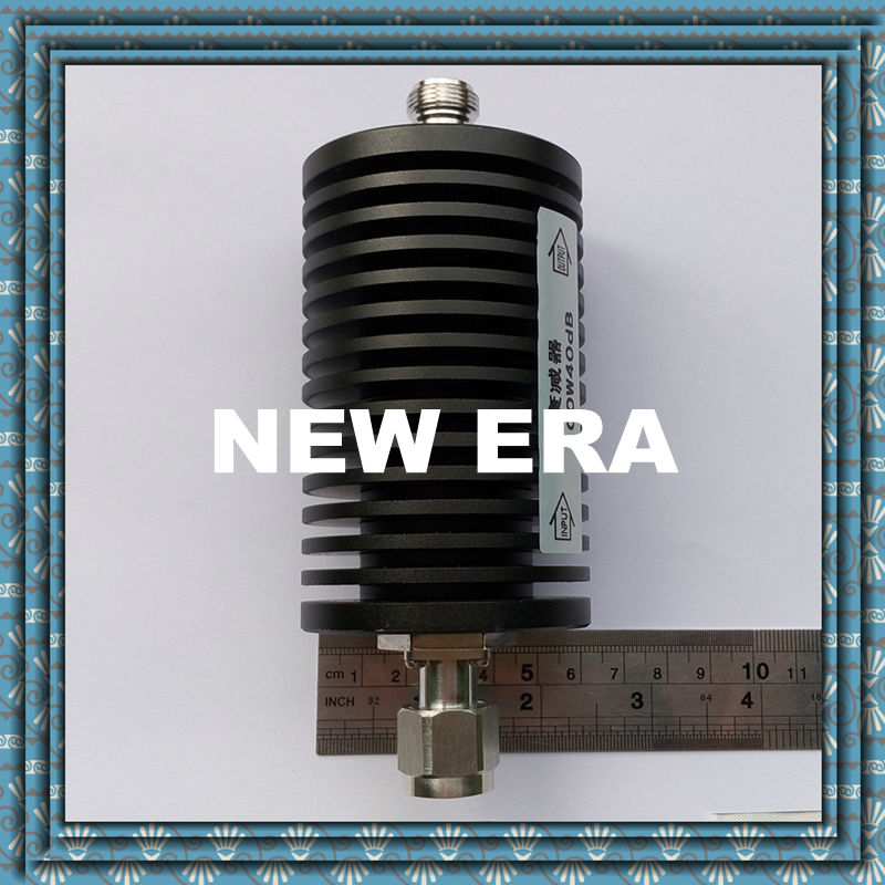 100W N-type RF coaxial fixed attenuator, 1-40dB, DC-3Ghz,free shopping<br><br>Aliexpress