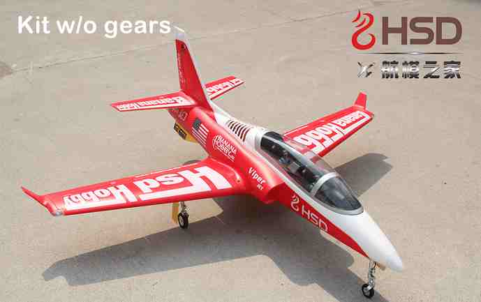 New! HSD Viper 90mm rc jet plane kit format without landing gears(China (Mainland))