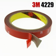 2 Roll 12mm x 3Meter 3M Tape Automotive Auto Truck Car Acrylic Foam Double Sided Attachment Strong Adhesive Tape Free Shipping(China (Mainland))