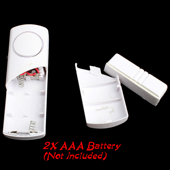 New Longer Door Window Wireless Burglar Alarm System Safety Security Device Home LCC77