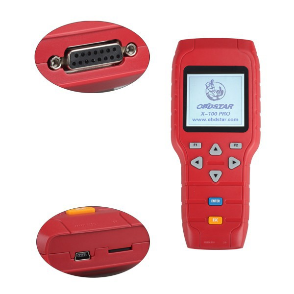 2015 X-100 PRO X100 Pro (C) Type for IMMO and OBD Software Function Auto Key Programmer(China (Mainland))