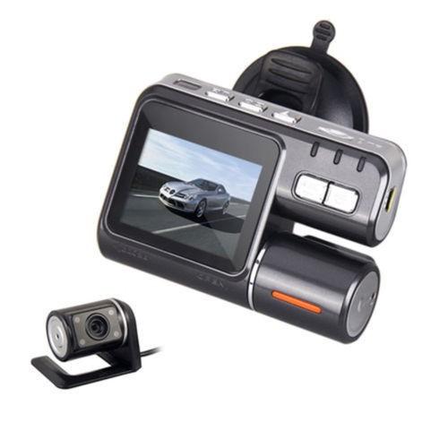 16GB Car DVR HD 1080P Mini dv X2 Dual Lens Vehicle Camera Black Box G-Sensor Night Vision Remote Control - Genesis century electronic store