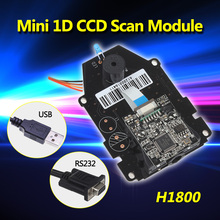 Frete Grátis! 100 pçs/lote Sensor CCD Tecnologia Mecanismo de Varredura de Código de Barras 1D CCD Módulo de Digitalização(China (Mainland))