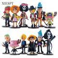 XIESPT Hot sale Cute Mini One Piece Figure PVC Action Figures brinquedos Collection Figures toys