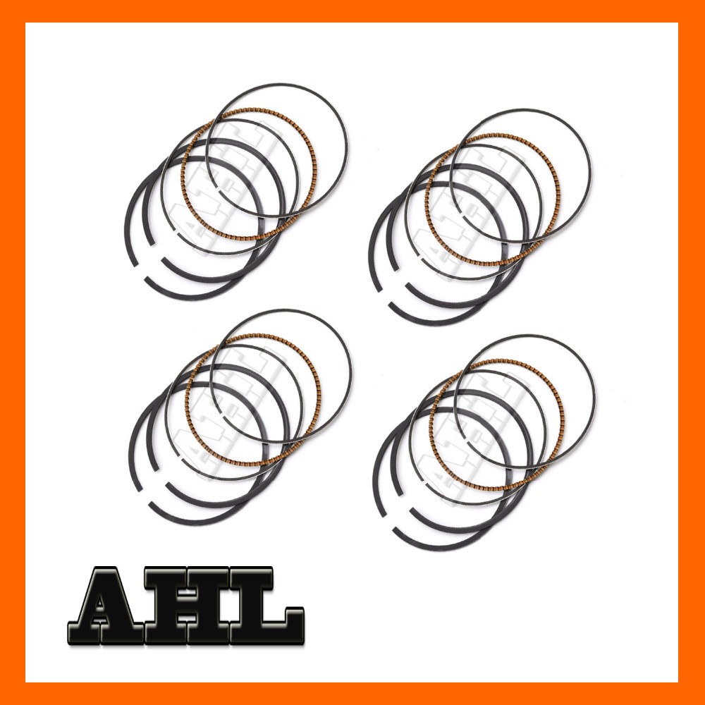Motorcycle Engine parts High Quality STD Bore Size 52mm piston rings For Suzuki INAZUMA Kanata 400