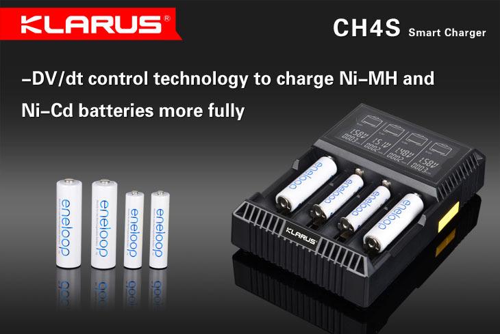 Battery charger CH4S LCD Smart Charger apply to Li-ion 16340 10440 14500 17500 18650 22650 26650 Ni-MH/Ni-Cd AA AAA AAAA battery(China (Mainland))